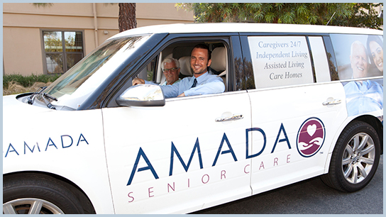 Amada Senior Care Los Angeles transportation