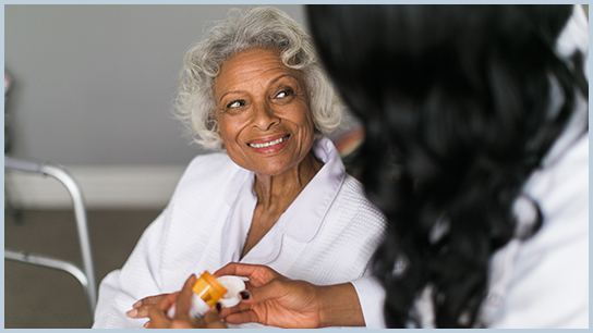 Amada Senior Care Hattiesburg-Gulfport medication reminders