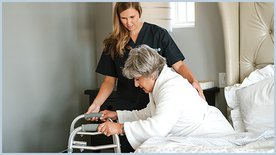 In-Home Senior Care - Walking, Ambulation, Exercise Assistance